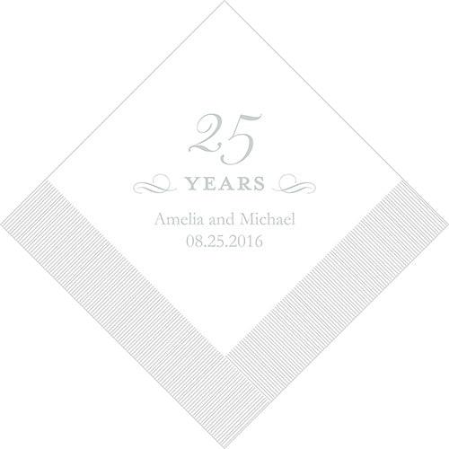25 years servetten