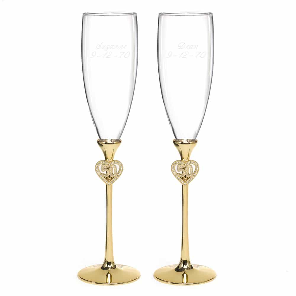 50 Design Champagneglazen