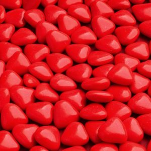 minihartjes rood