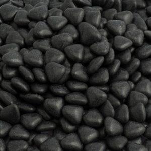 Chocoladehartjes Zwart