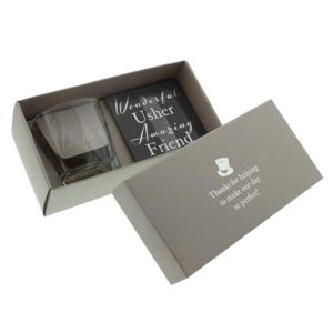 Amore Collectie Whiskey glas - Usher