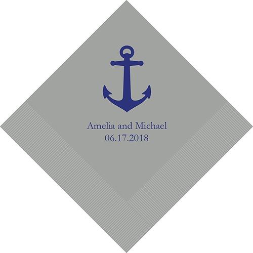 Anchor Bedrukte Servetten