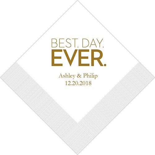 Best Day Ever Blokletter