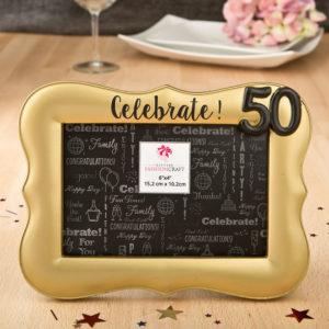 Celebrate 50 Fotolijst Goud