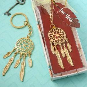 Dream catcher Sleutelhanger Goud
