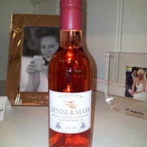 """Gepersonaliseerd flesje Rose """"Voor Altijd De Jouwe"""""""