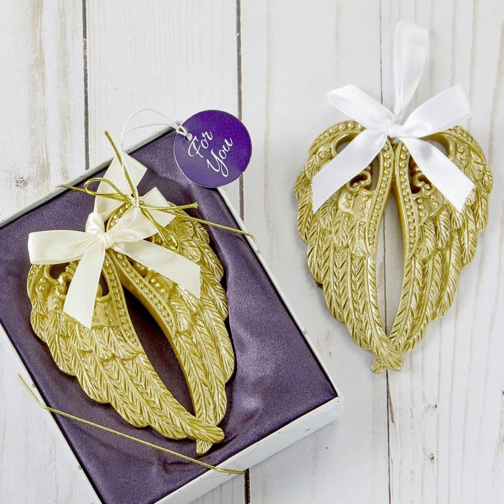 Gouden Angel Wing ornamenten