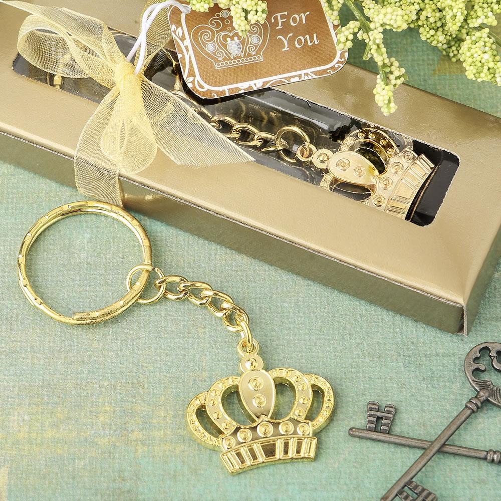 Kroon Design Sleutelhanger Goud