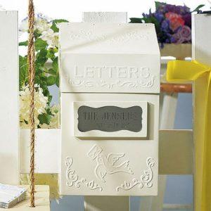 """Letters"" Brievenbus Gepersonaliseerd"