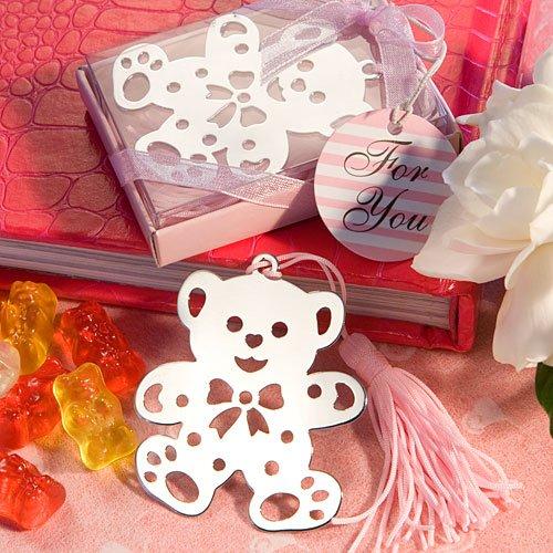 Lieve Teddybeer Boekenlegger Roze