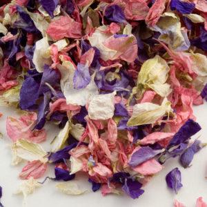 Gemengde kleuren Delphinium Bloemblaadjes