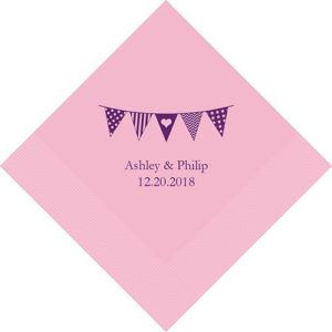 Pennants Gepersonaliseerde Servetten