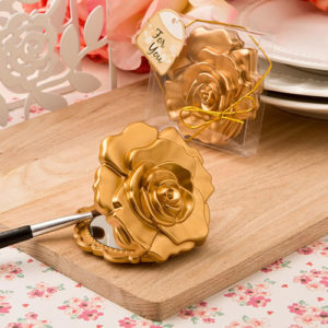 Roos Design Compact Spiegeltje Goud