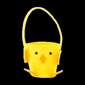 Vilt cadeau-mandjes voor Pasen