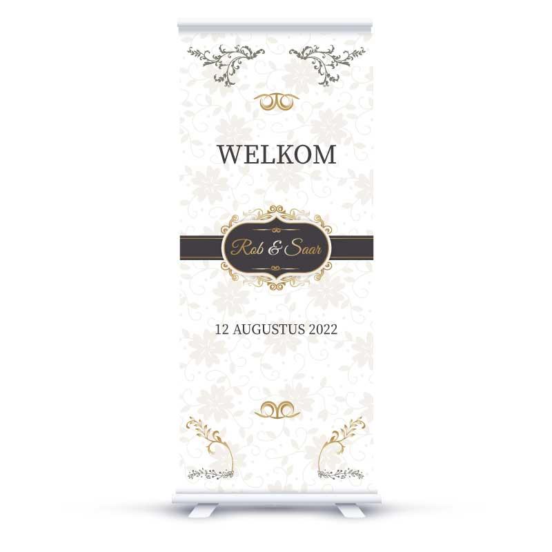 Welkoms Banner Wedding Delight