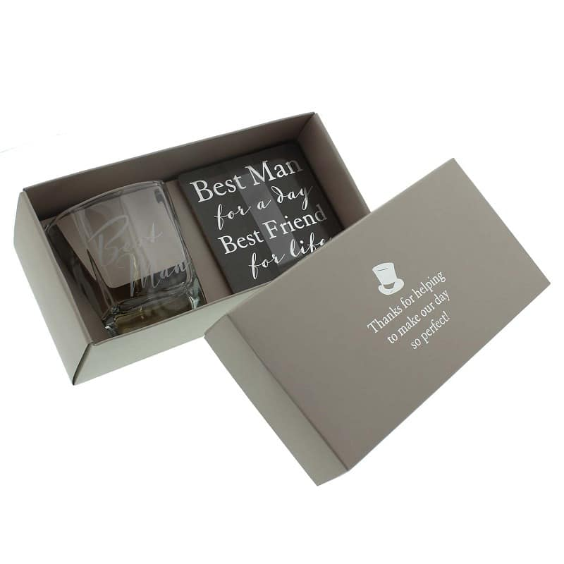 Amore Collectie Whiskey glas - Best Man
