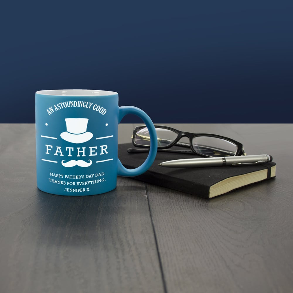 Gepersonaliseerde Koffiebeker An Astoundingly Good Father