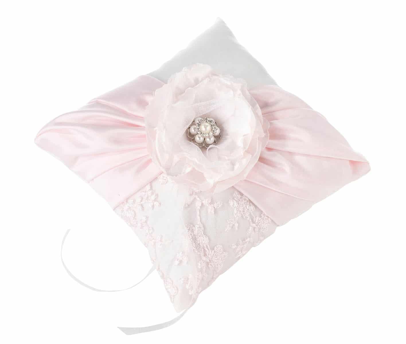 blush pink ringkussen