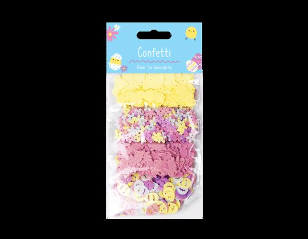 Paastafel Confetti