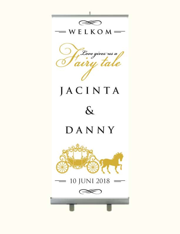 Fairy Tale Roll Up Banner