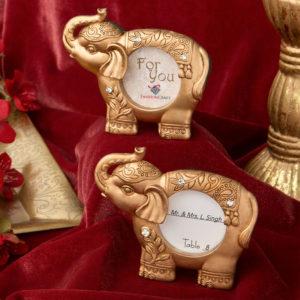 Good Luck Gold Indian Elephant Houder