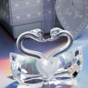 Kissing Swans Crystal Collectie