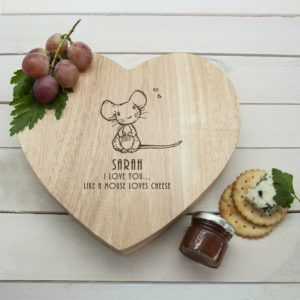 Kaasplank 'Like A Mouse Loves Cheese'