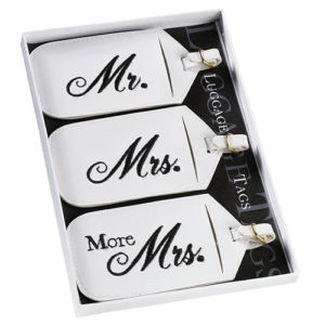 Mr & Mrs Koffer Labels