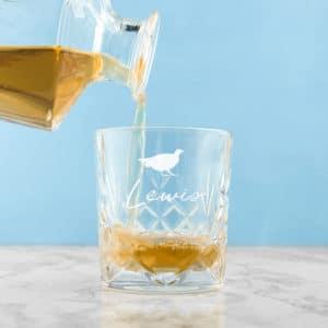 Whiskey Glas Kristal Icoon Gepersonaliseerd