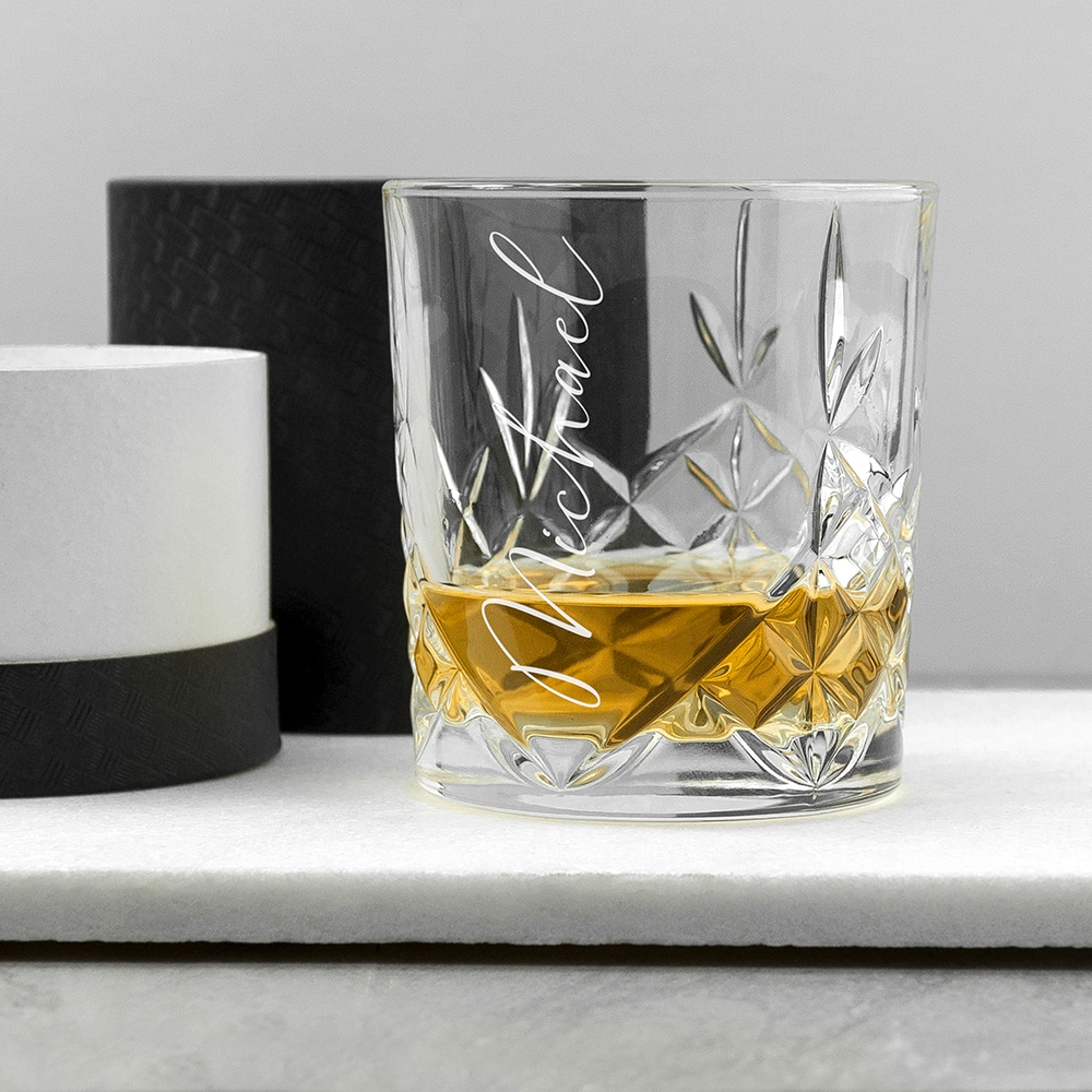 Whiskey Glas Kristal Gepersonaliseerd