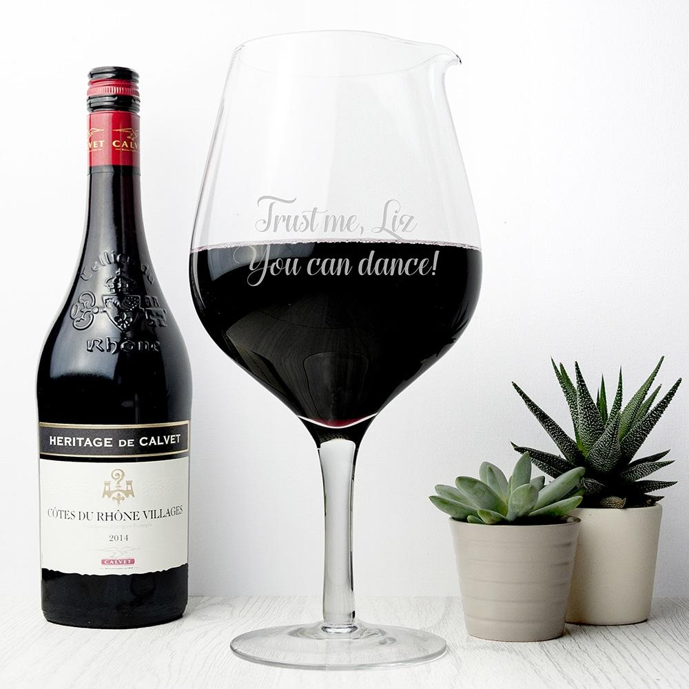 Giga Wijnglas Gepersonaliseerd