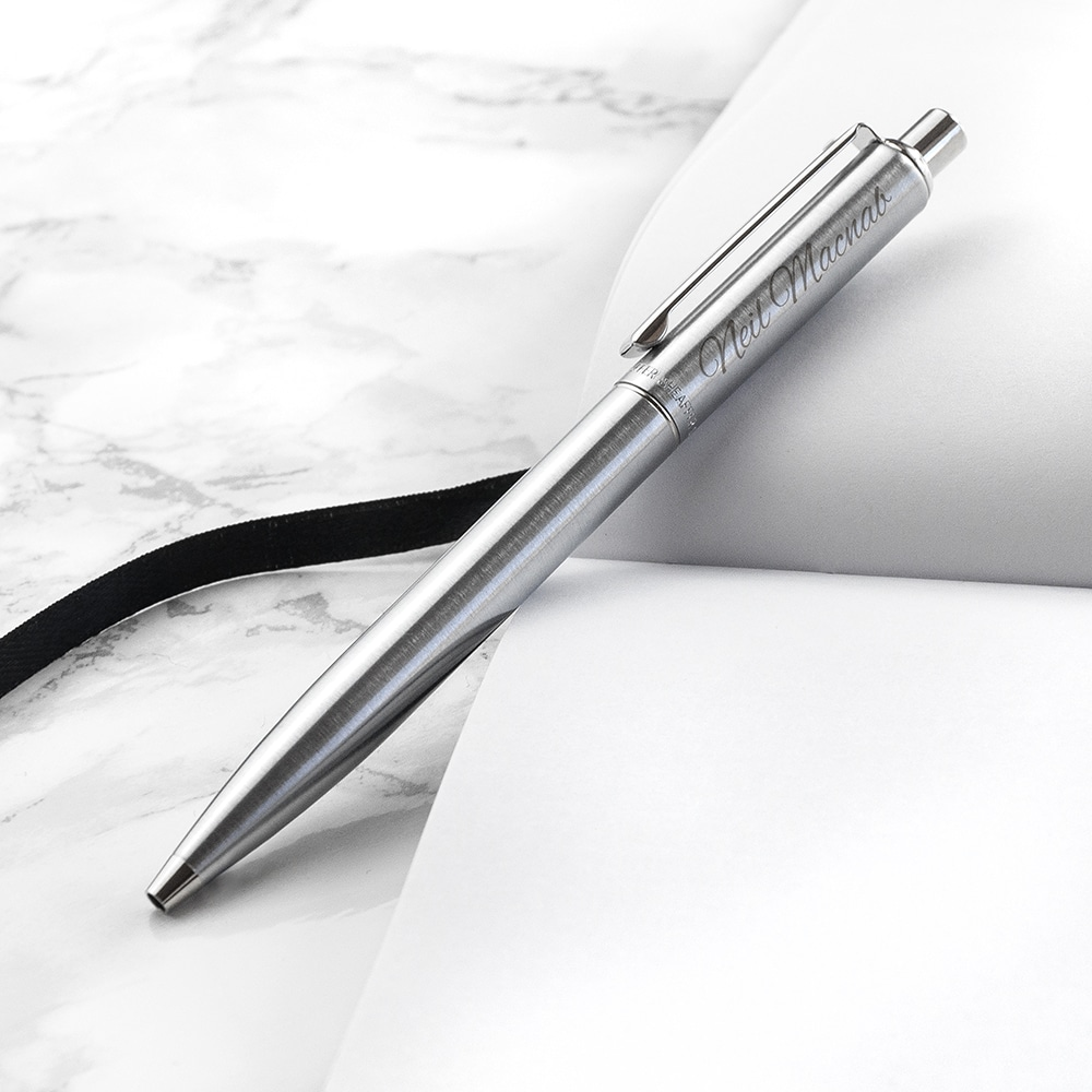 Sheaffer Pen geborsteld Chroom Gepersonaliseerd